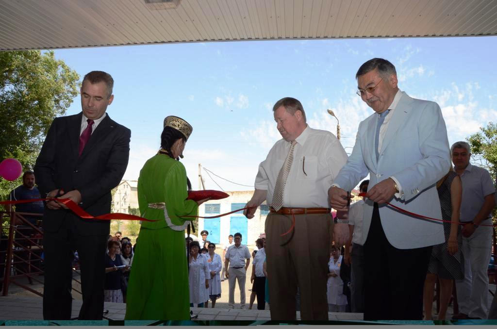 В Калмыкии состоялось торжественное открытие республиканской детской больницы после капитального ремонта