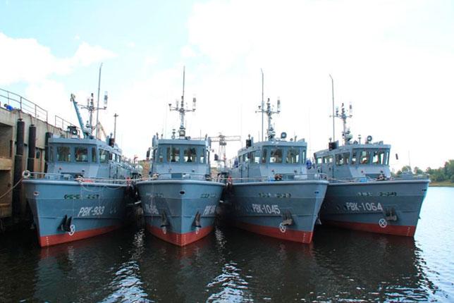 «Завод Нижегородский Теплоход» спустил на воду два аварийно-спасательных катера проекта 23040 для Минобороны РФ