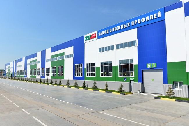 В Казани открылся новый завод по производству стальных профилей и металлопроката