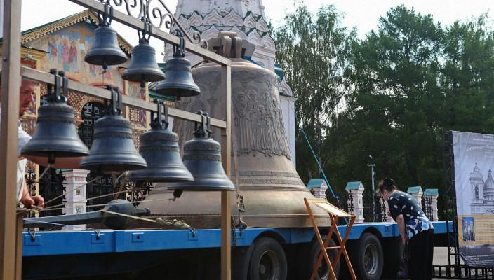 В Ярославль прибыл колокол — благовест