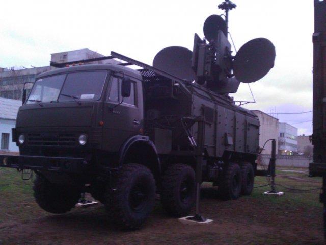 Брянский электромеханический завод представил комплекс радиоэлектронной борьбы «Красуха-4»