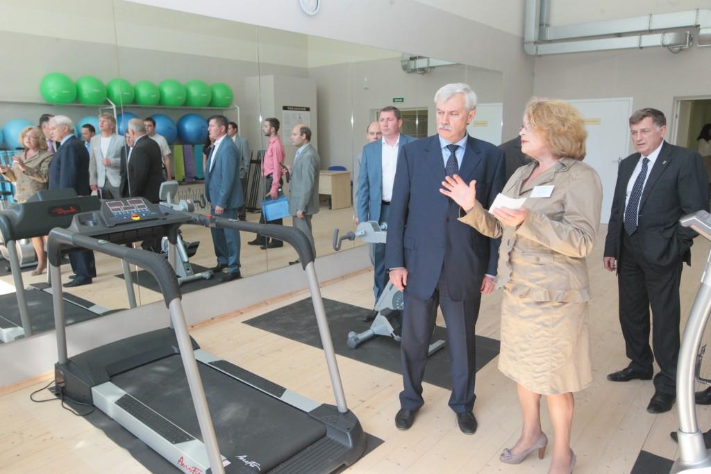 В центре социальной реабилитации инвалидов (Ленинградская область) открылся спортивный корпус