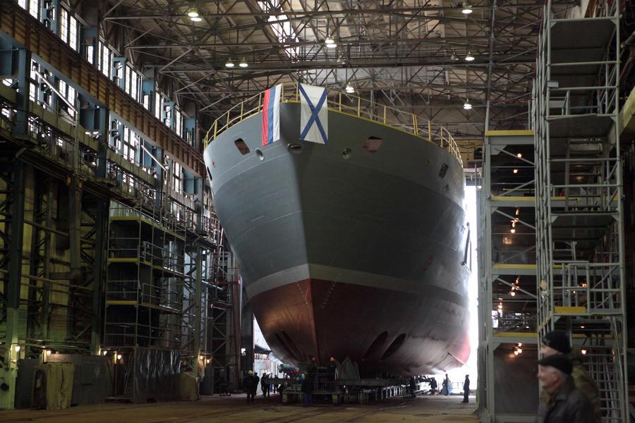 Более 50 новых боевых кораблей пополнят состав Военно-морского флота России до конца года