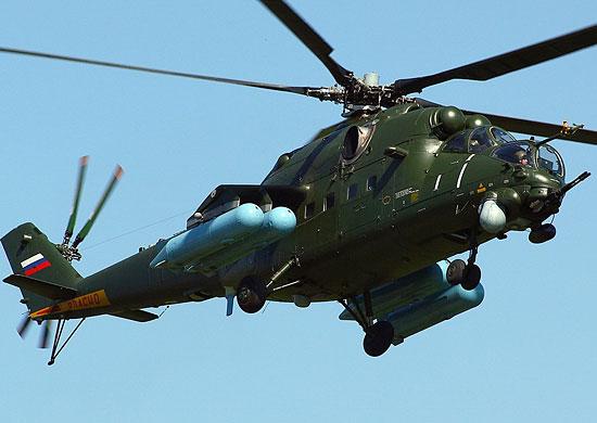 На авиабазу ВВО в Приморском крае начинается поставка вертолетов Ми-35М