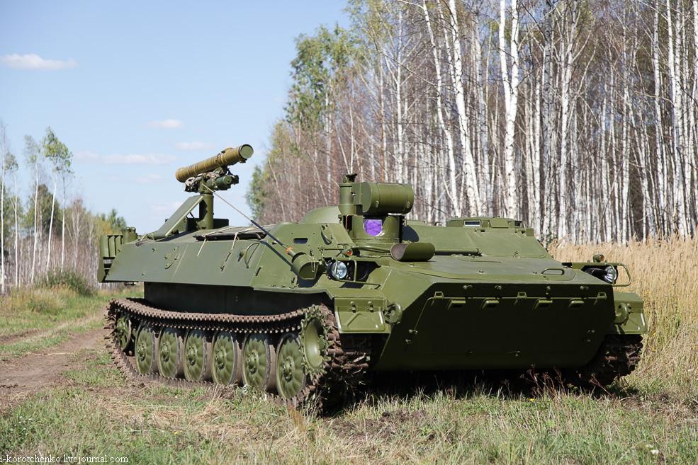 Военные получили универсальный противотанковый комплекс «Штурм-СМ»