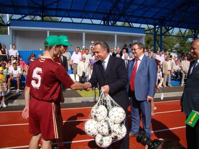 Новые спортивные объекты Тамбовской области