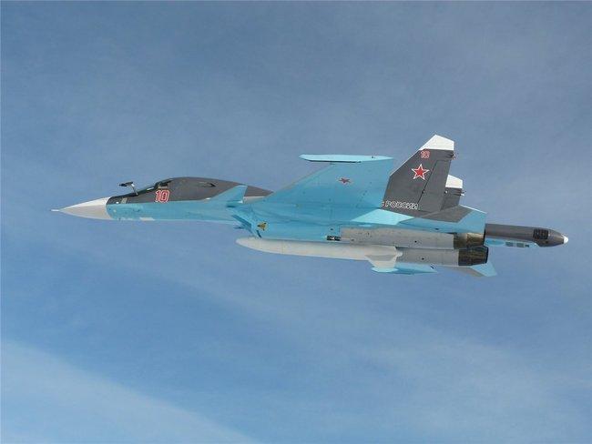 Армия России получила новые Су-34