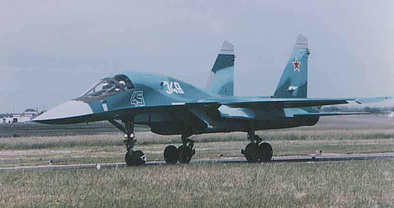ВВС России получили на вооружение еще три Су-34