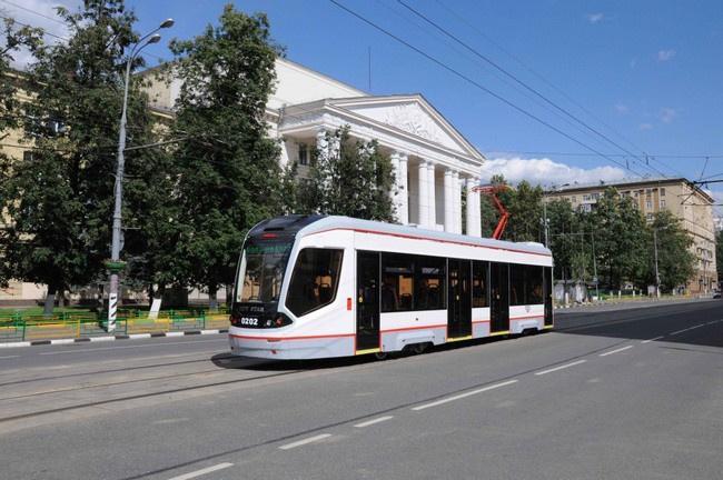 Изготовленный на Тверском вагоностроительном заводе трамвай отправлен на сертификационные испытания