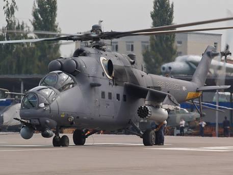Россия отправила в Ирак первые боевые вертолеты Ми-35 и штурмовики Су-25