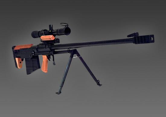 Снайперам Восточного военного округа передали на вооружение крупнокалиберные винтовки