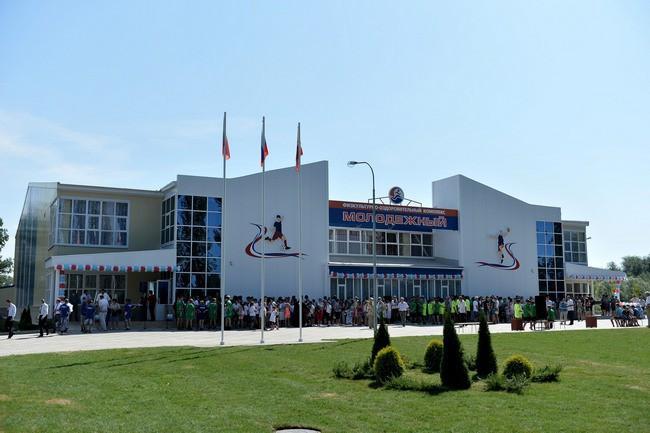 В Воронежской области открыли новый физкультурный комплекс