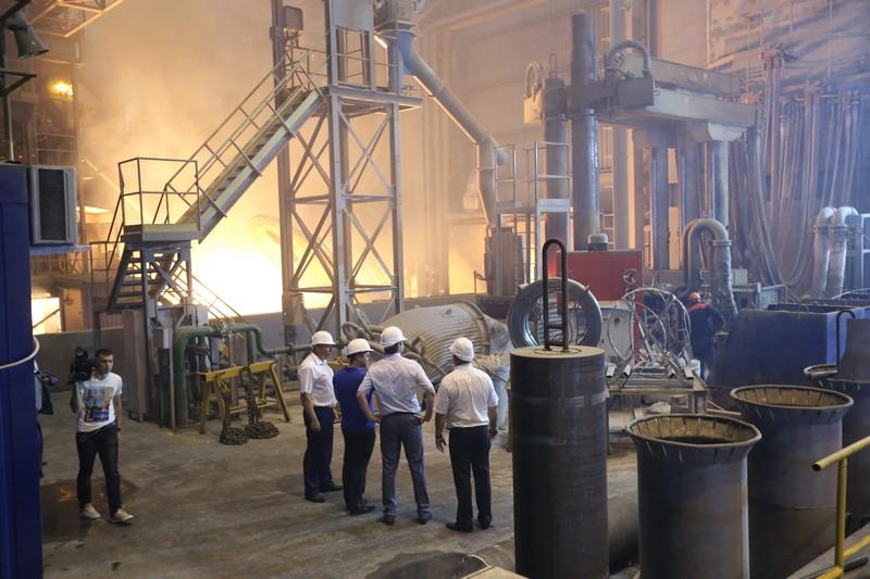 В Краснодарском крае строят третью очередь Абинского электрометаллургического завода