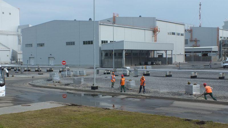 Строительство завода «Русвинил» в Кстовском районе Нижегородской области завершено
