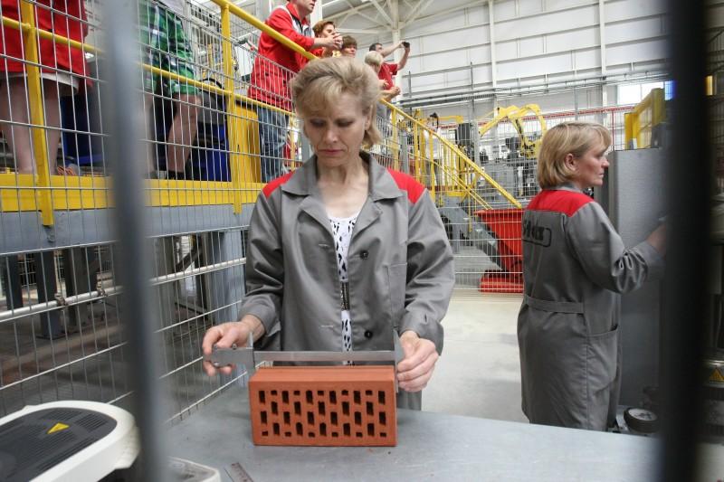 В Республике Мордовия открылся завод по производству клинкерного облицовочного кирпича