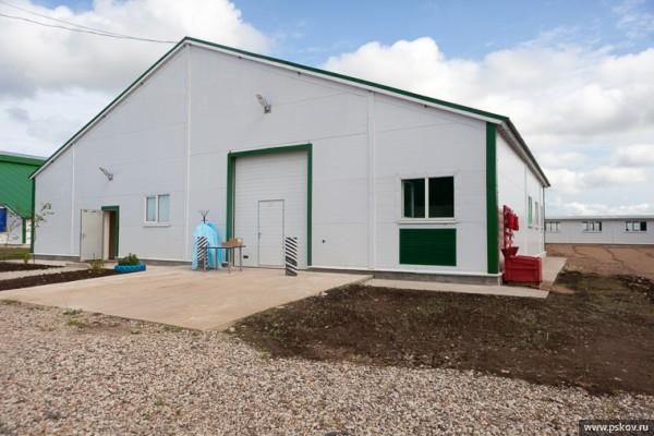 В Псковской области открылась первая очередь молочного комплекса агрофирмы «Победа»