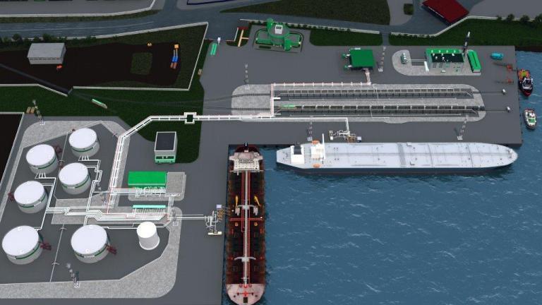 БТК ввела в эксплуатацию второй причал на терминале «Турухтанные острова» в порту Санкт-Петербург