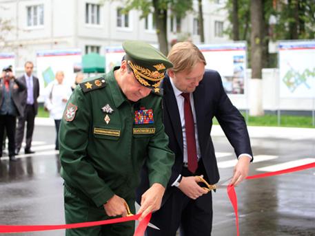 Заложено строительство производственно-логистического комплекса «Нара» Минобороны РФ