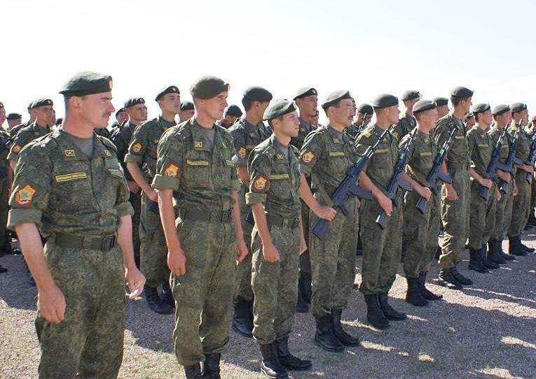 Вчера на полигоне МунхХэт состоялось торжественное открытие российско-монгольского антитеррористического учения «Селенга-2014»
