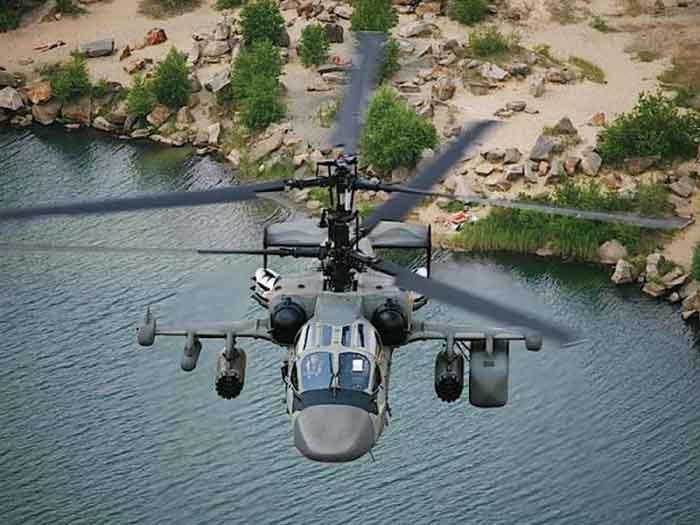 Три первых палубных Ка-52К будут переданы ВМФ к концу года