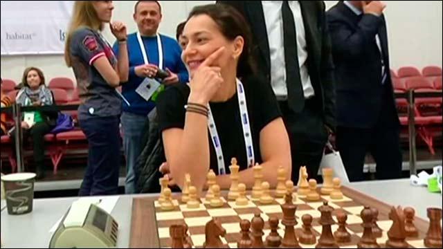 Женская сборная России выиграла Всемирную шахматную Олимпиаду в Норвегии