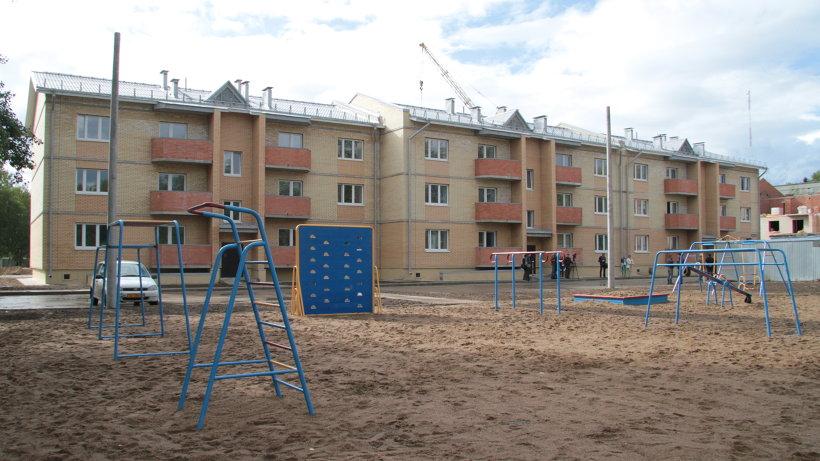 В Архангельской области построен дом для расселения «аварийки»