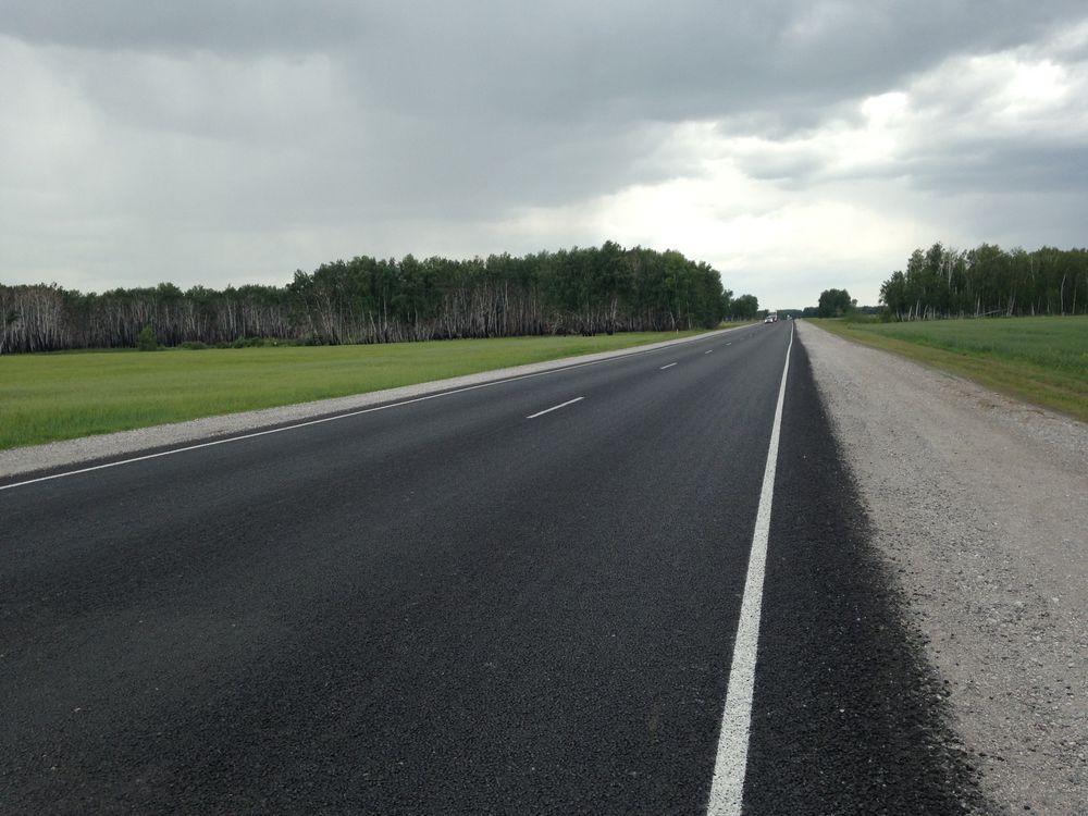 Введены в эксплуатацию 97 километров федеральной трассы Р-254 «Иртыш»