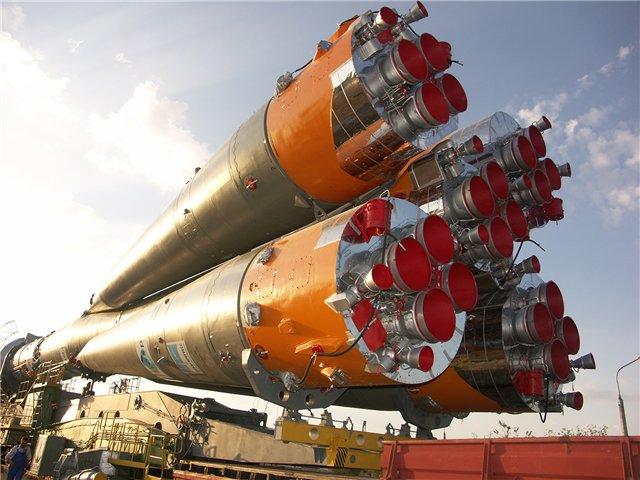 Ракета-носитель с двигателями РД-107А/РД-108А успешно стартовал с космодрома Куру