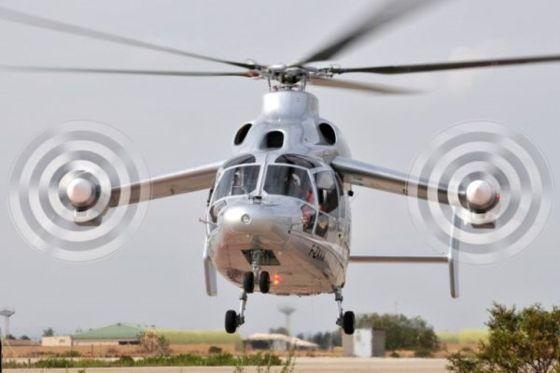 Демонстратор высокоскоростного гибридного вертолета Eurocopter X3