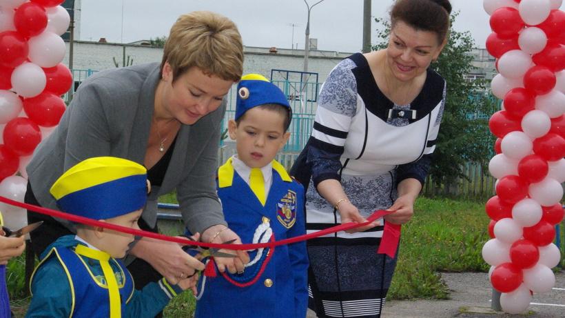 В Северодвинске открылся первый в области детский автогородок