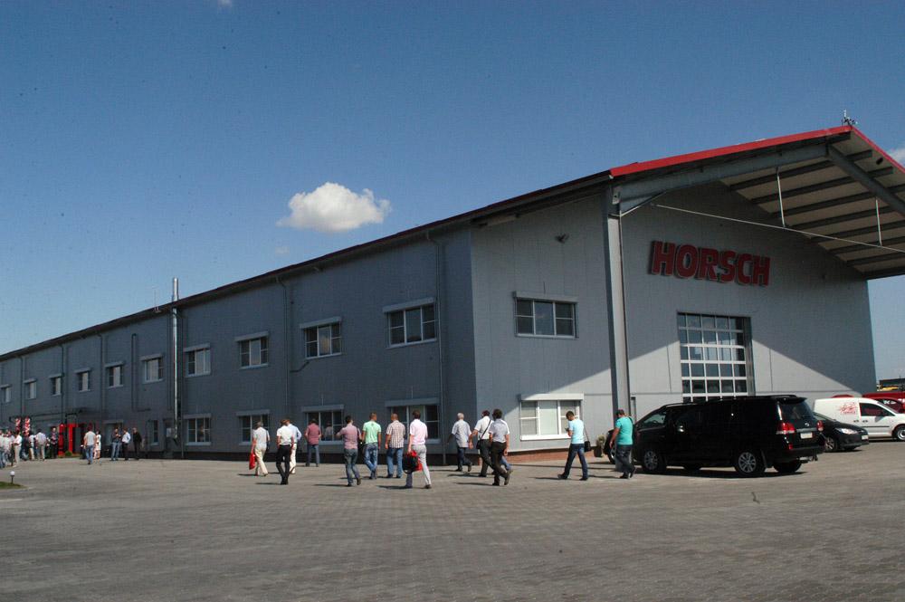 В Липецкой области состоялось откртие производственно-сервисного центра немецкой компании HORSCH