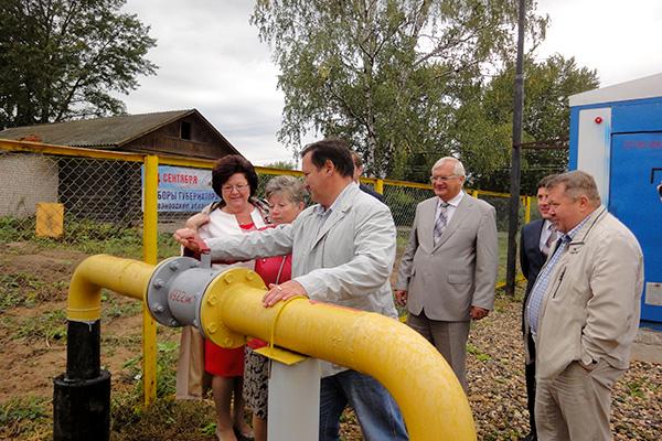 Газифицированы еще два населенных пункта Ивановской области
