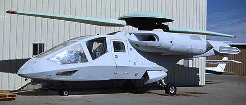 Сверхскоростной реактивный вертолет с ТРДД Ка-90