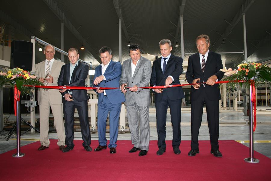 В Калининградской области начало работу новое предприятие по производству газосиликатного блока