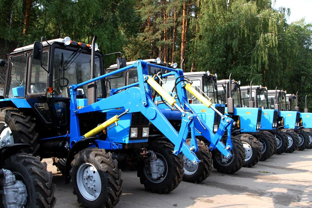 Лесхозы Липецкой области получили новую технику