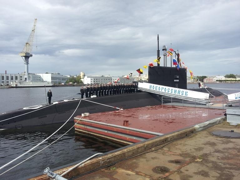 Самая скрытная в мире подлодка «Новороссийск» передана ВМФ РФ