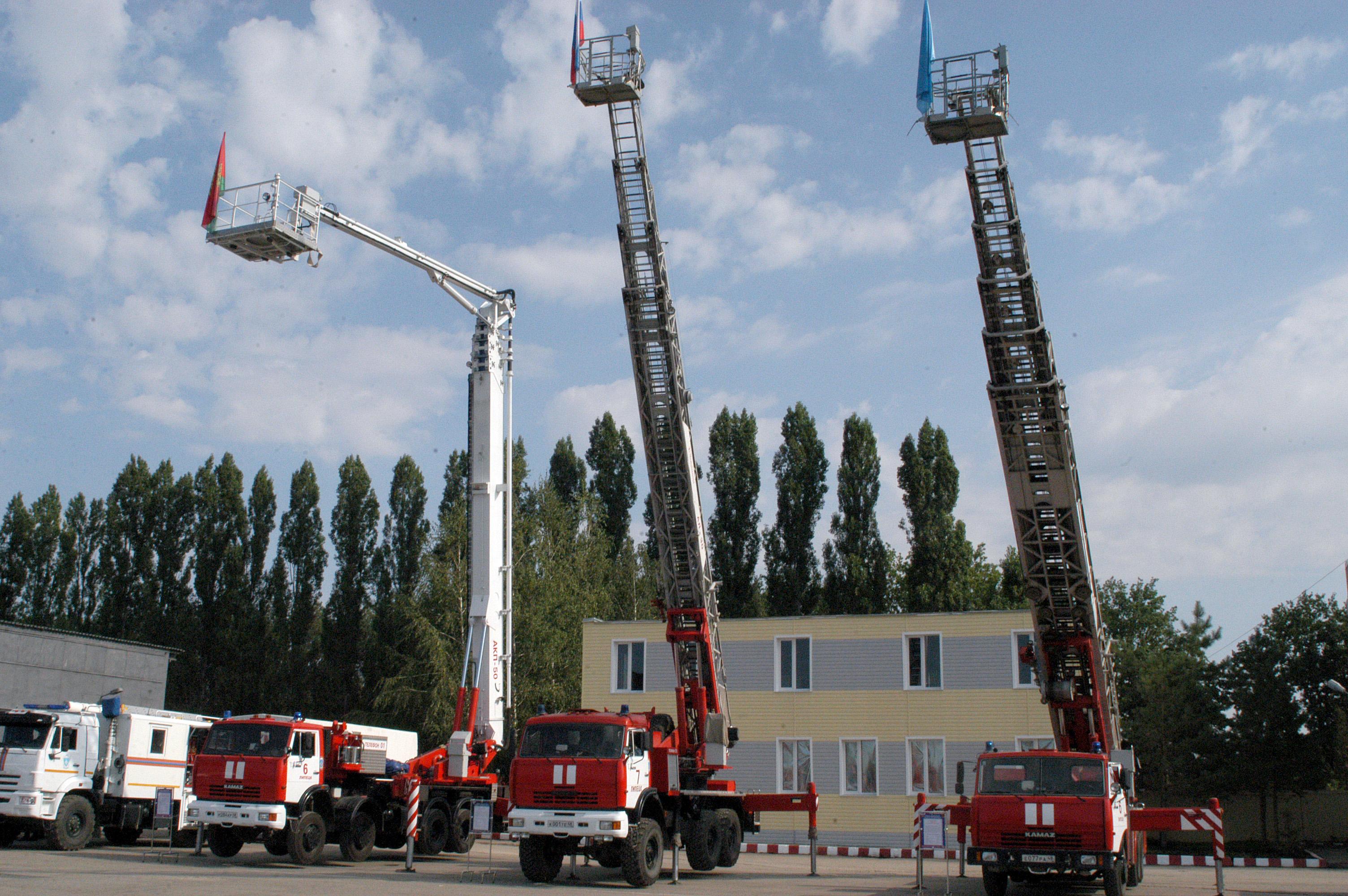 В Липецке открылся учебно–тренировочный комплекс для подготовки спасателей