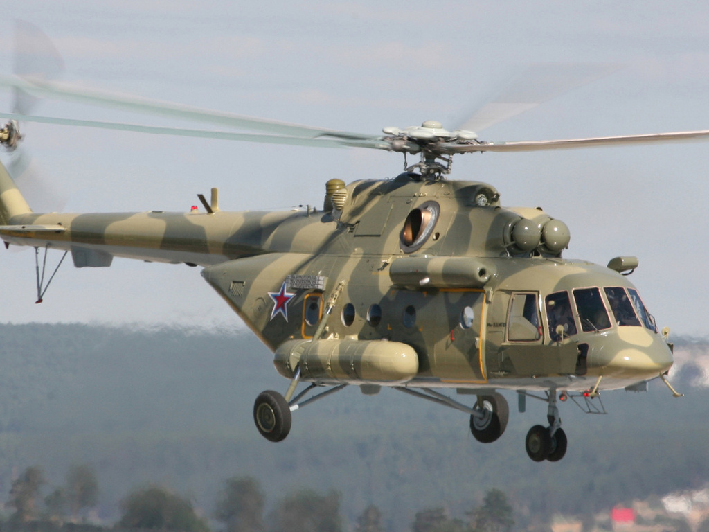 Авиабаза «Толмачево» пополнилась вертолетами Ми-8АМТШ