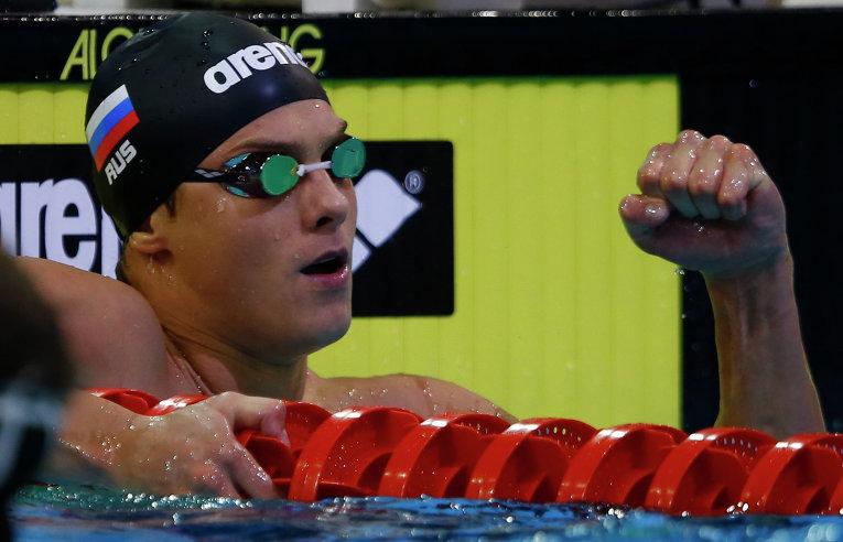 Владимир Морозов выиграл золото ЧЕ в плавании на 50 м на спине