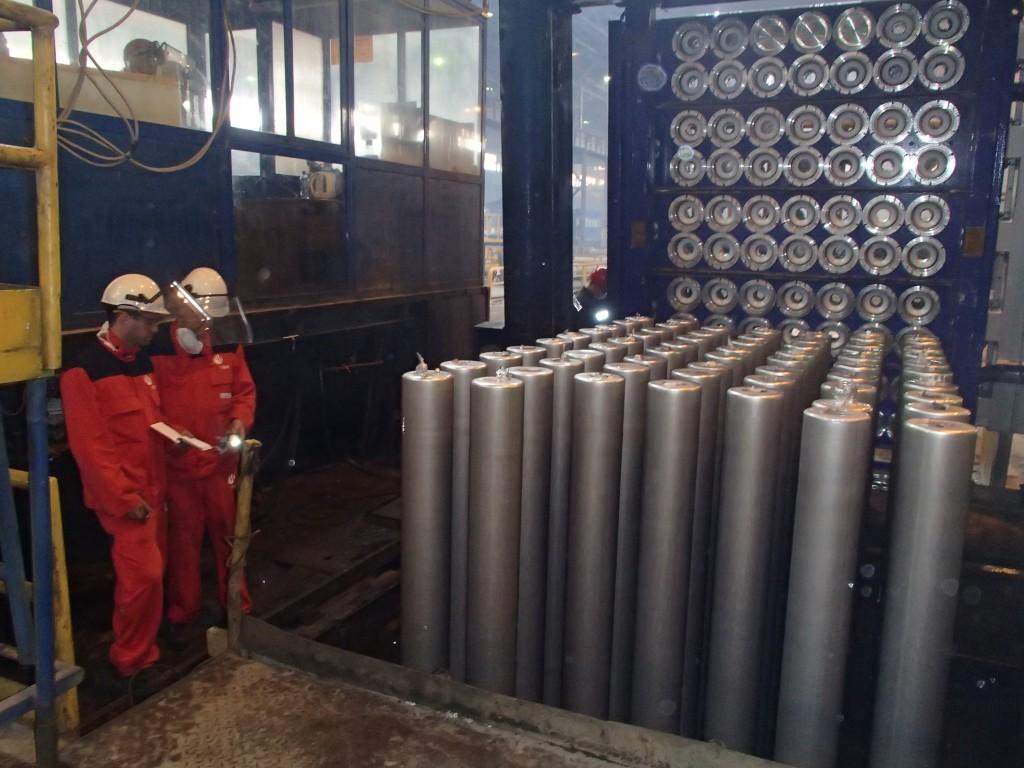 Саяногорский алюминиевый завод ввел в эксплуатацию новые литейные оснастки