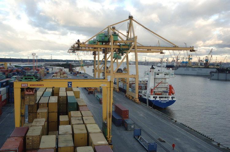 В порту «Бронка» начаты работы по строительству газопровода