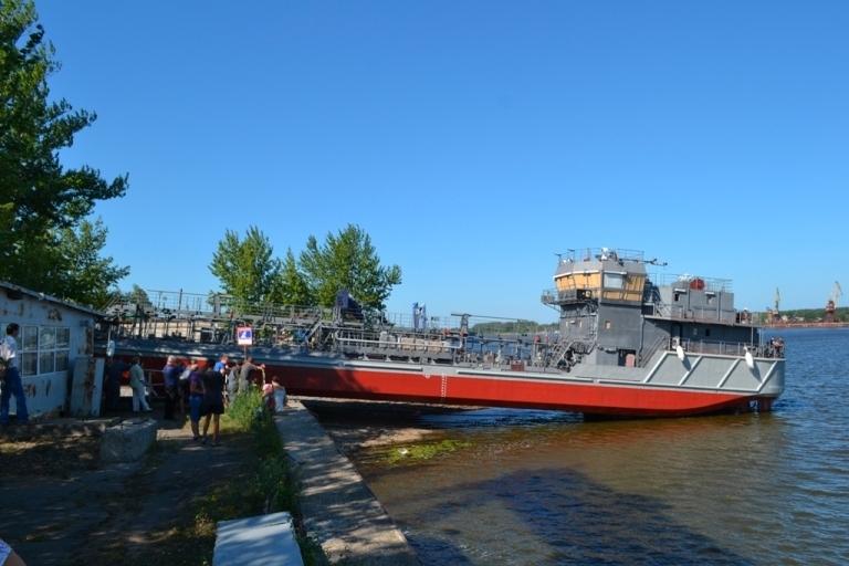 Ярославский судзавод спустил на воду второй танкер-бункеровщик проекта RT 18 «Рассвет»