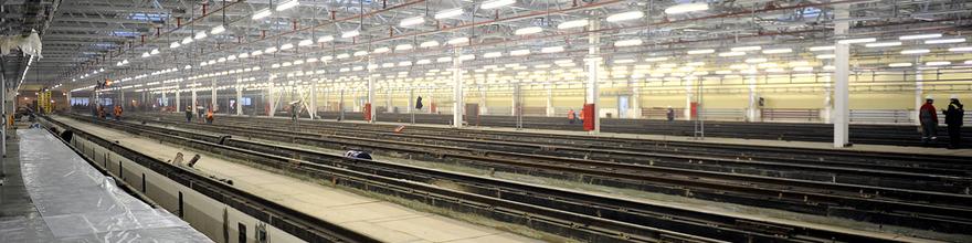 В Москве запущено новое производство по сварке рельсов метро