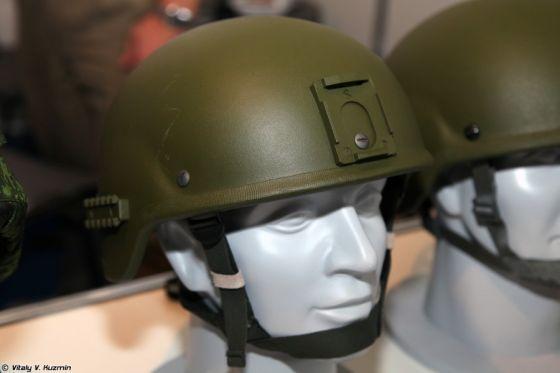 Новейший российский бронешлем 6Б47 проходит войсковые испытания