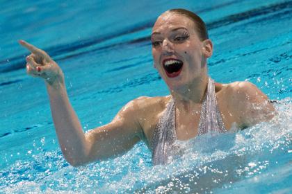 Синхронистка Светлана Ромашина выиграла золото Чемпионата Европы
