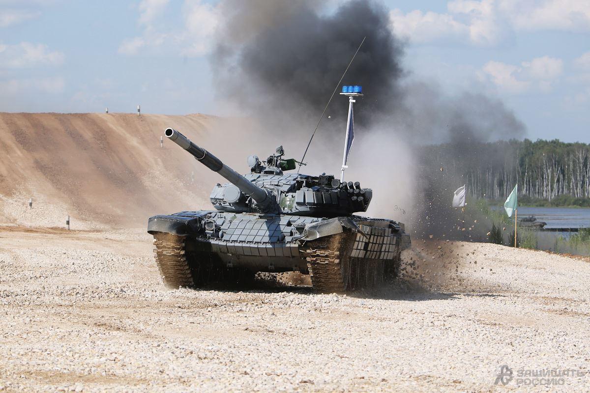 «Танковый биатлон-2014» стартовал в подмосковном Алабине