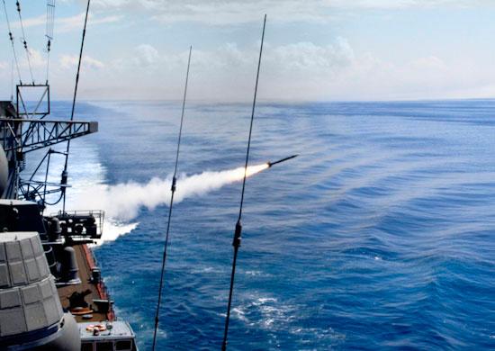 На Каспийской флотилии прошло зачетное учение корабельных группировок