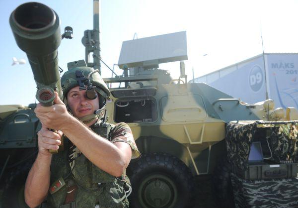 В Российскую армию начал поступать новый переносный зенитный ракетный комплекс «Верба», разработанный ОАО «НПК «КБМ»