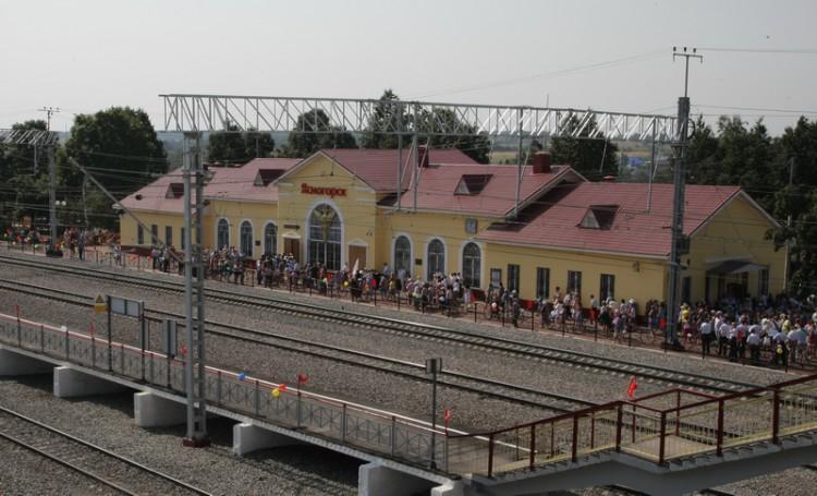 В Тульской области после реконструкции открылся ЖД вокзал