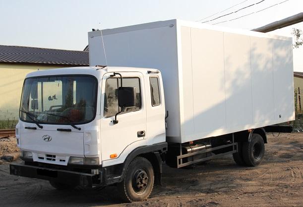 Новый изотермический фургон Hyundai HD 120 от «НижСпецАвто»